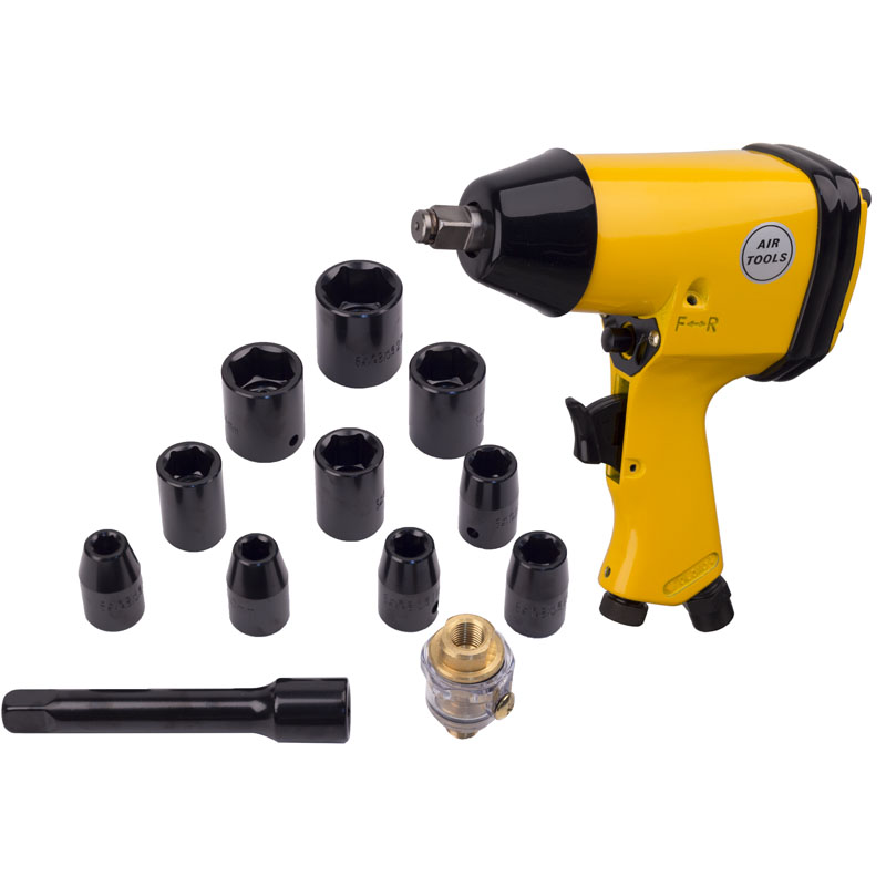 1 2 Impact Wrench Kit With Sockets