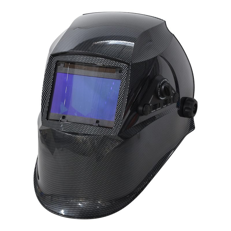 This is a Auto Darkening Welding Helmet. Most models features an adjustable darkness setting.