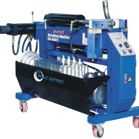 Pipe Benders | Hand, hydraulic & electrical types | Adendorff Machinery