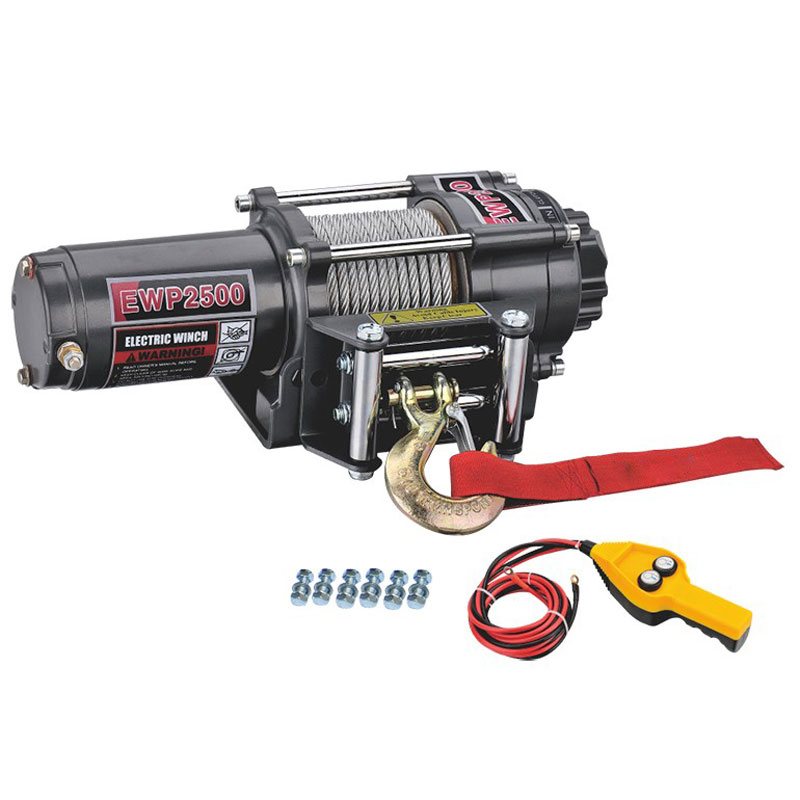 MAC-AFRIC EWP2500D 12V ATV Winch