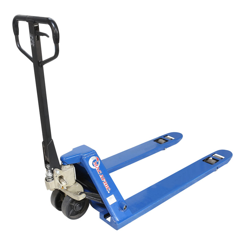 Low level pallet truck telescopic ladder 40 ft