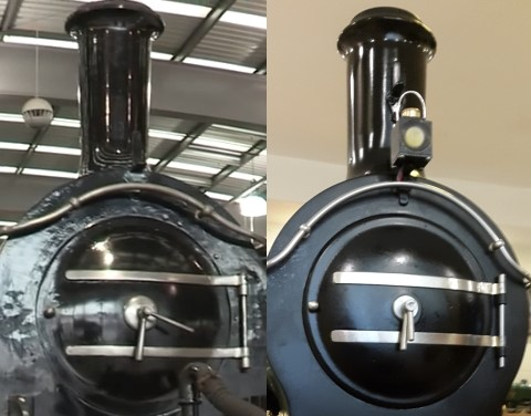 Figure 11: The front of the loco