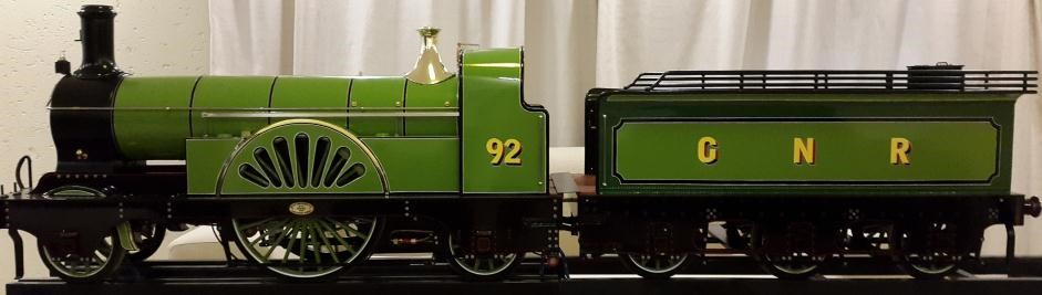 Final Finished Train Built to Scale