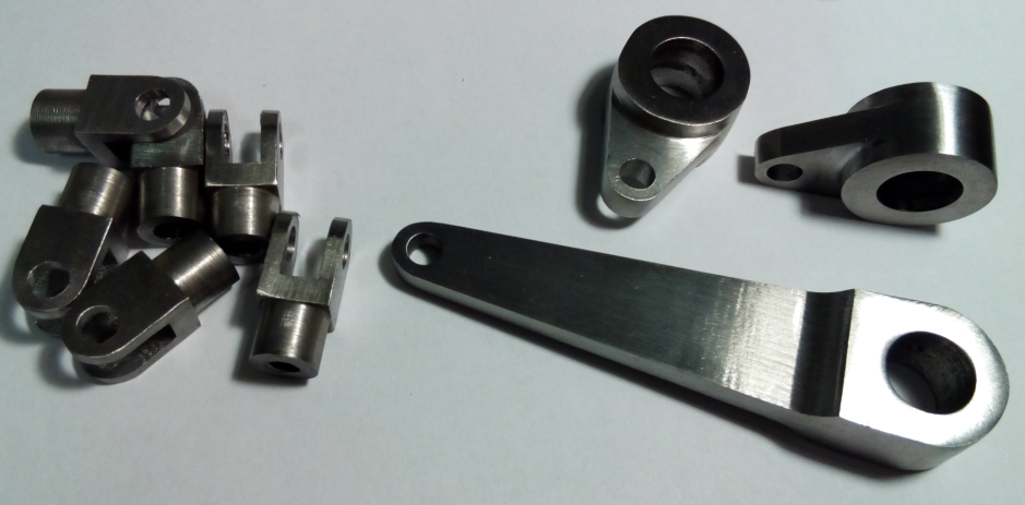 Figure 1: Low carbon steel machined examples